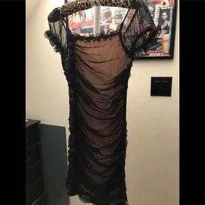 Tule dress black